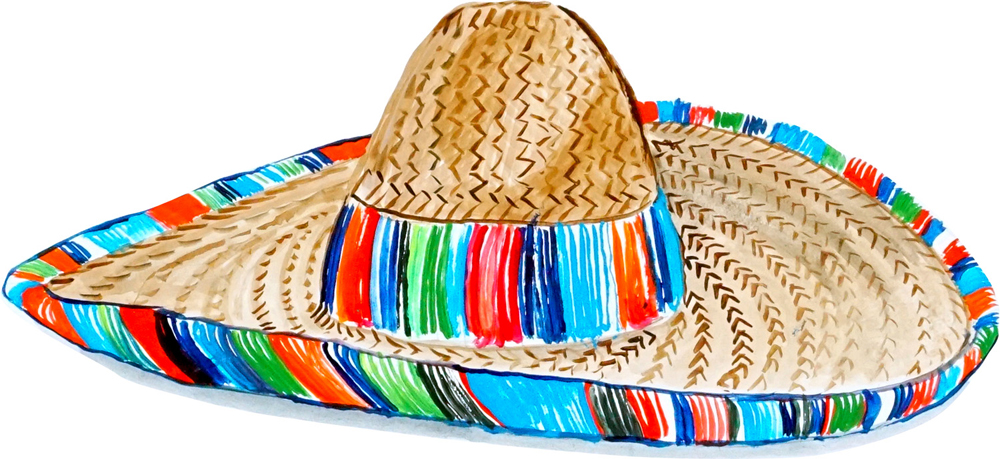 1024157f825 Image is loading Realistic-Mexican-Sombrero-Hat-Charros-Vinyl-Decal-Car-