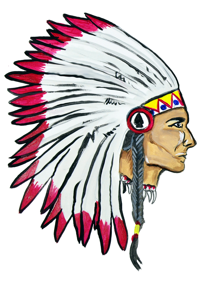 Image is loading indian head sticker decal helmet equipment cooler native