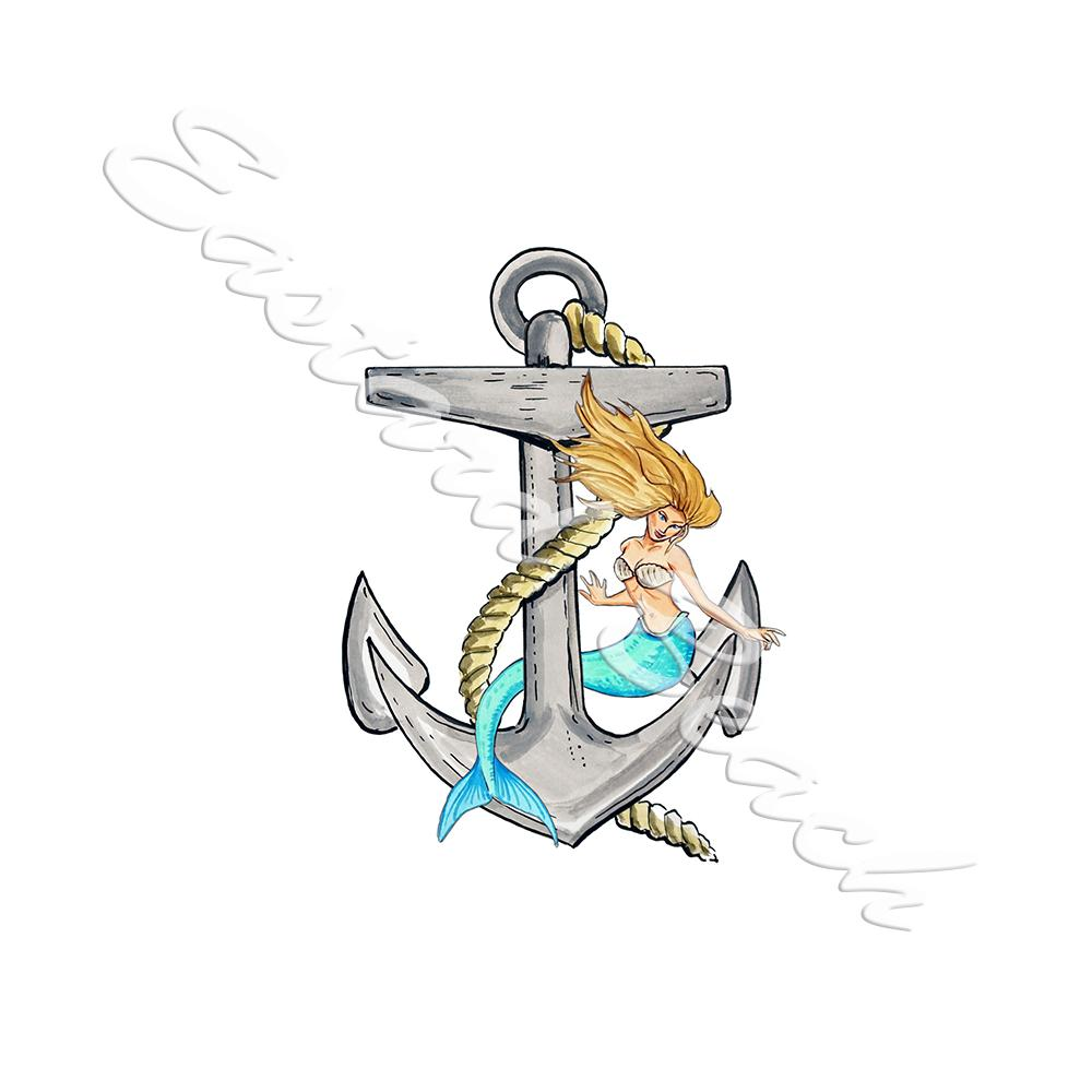 Anchor and Mermaid