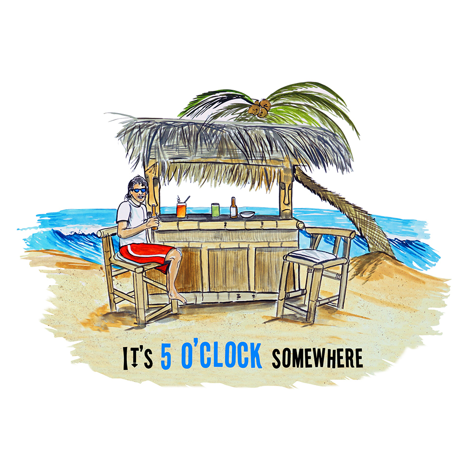 """5 O'clock Somewhere"" - Cabana"