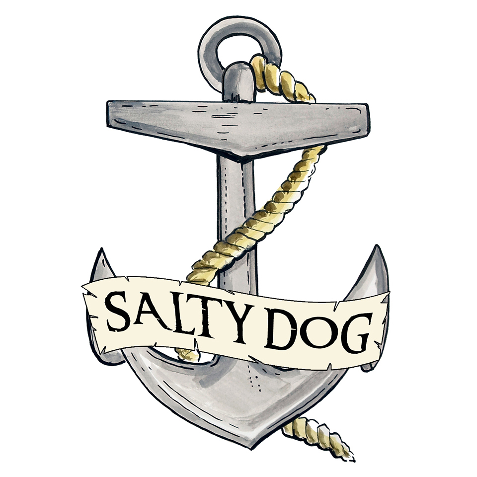 """Salty Dog"" - Anchor"