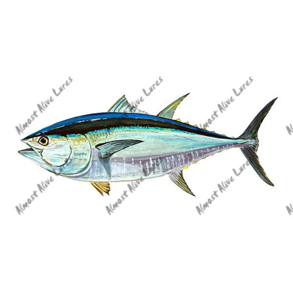 Bluefin Tuna - Printed Vinyl Decal