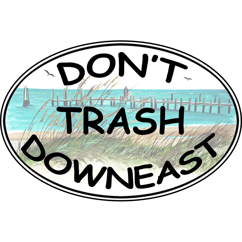 Don't Trash Downeast - Cape Lookout Dock