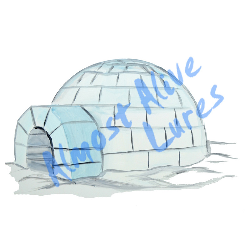 Igloo - Printed Vinyl Decal