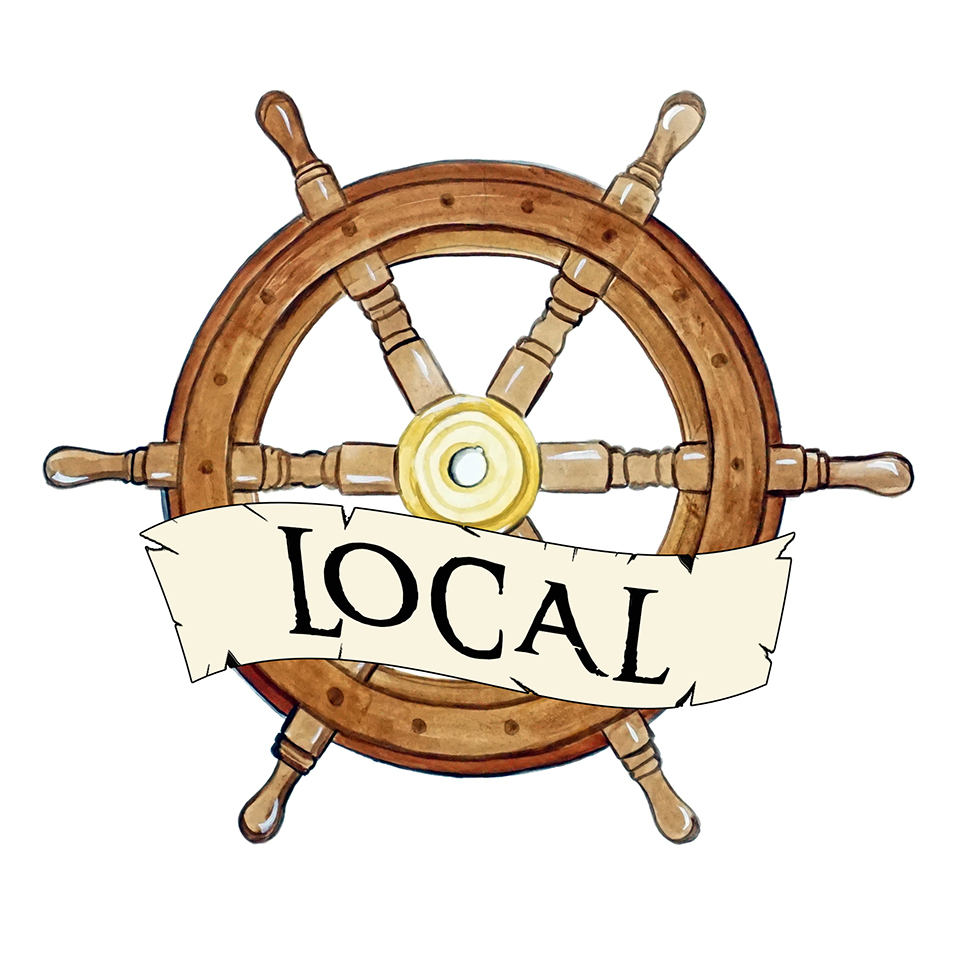 """Local"" - Ship Wheel"