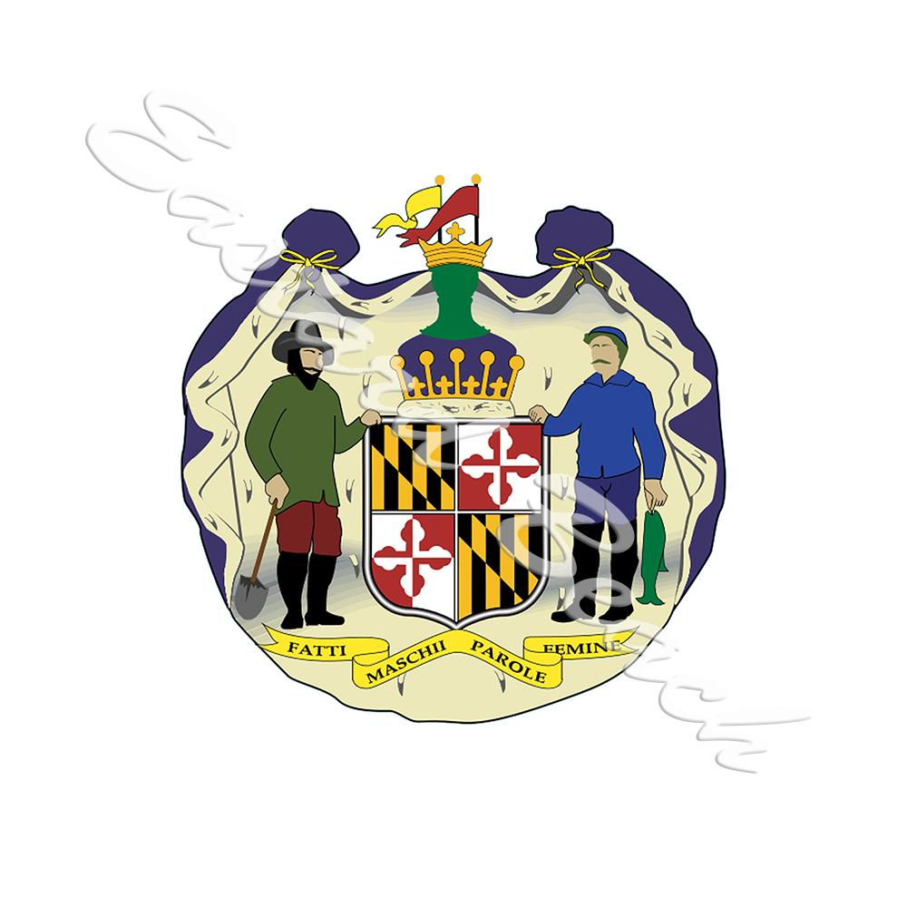 Maryland Coat Of Arms