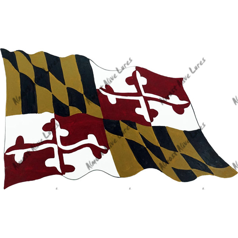 Maryland Flag - Printed Vinyl Decal