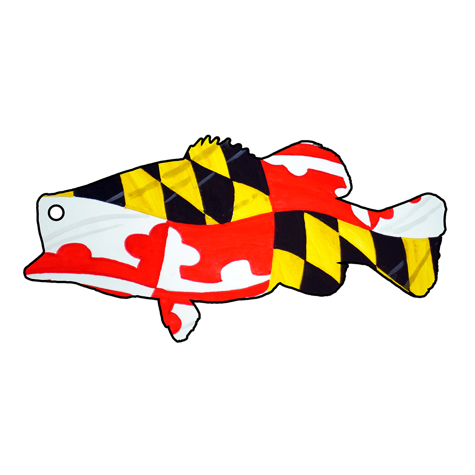Maryland Flag Largemouth Bass