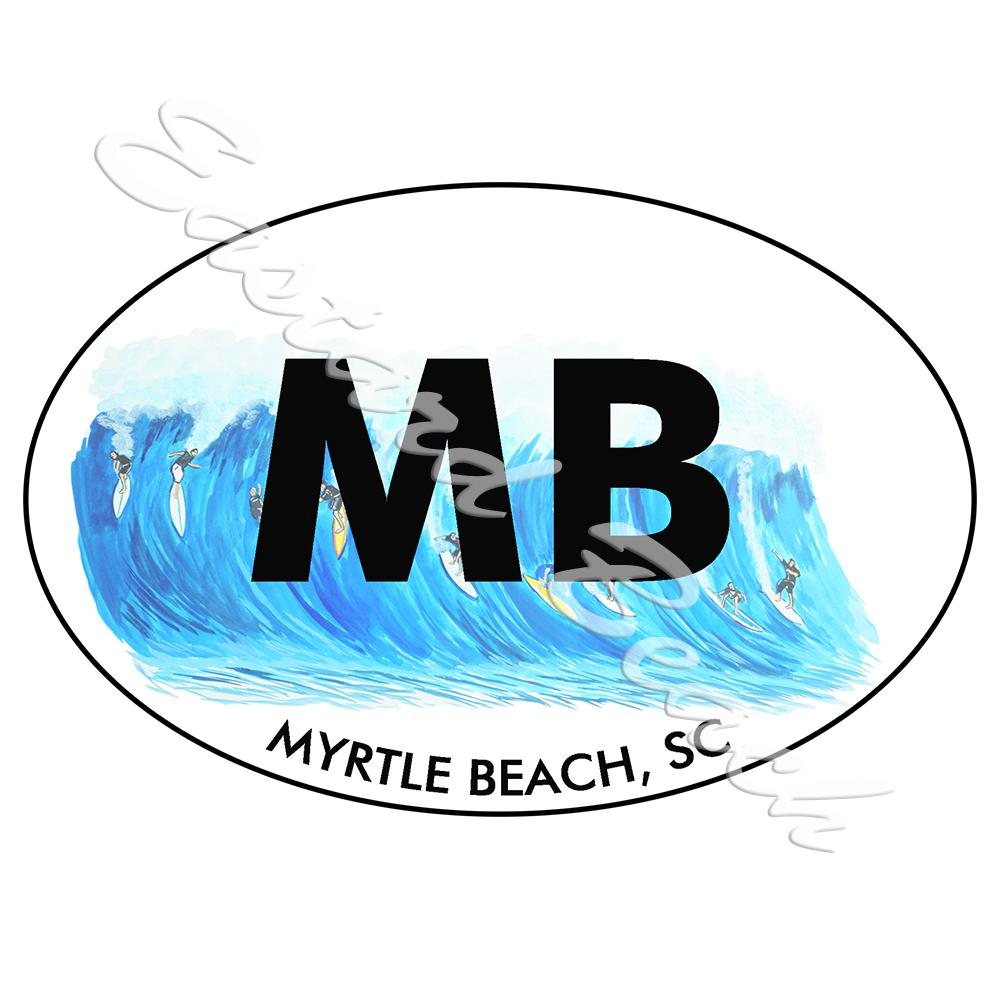 MB - Myrtle Beach Surfing