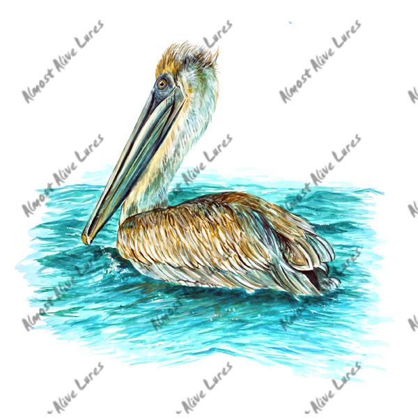Pelican - Printed Vinyl Decal