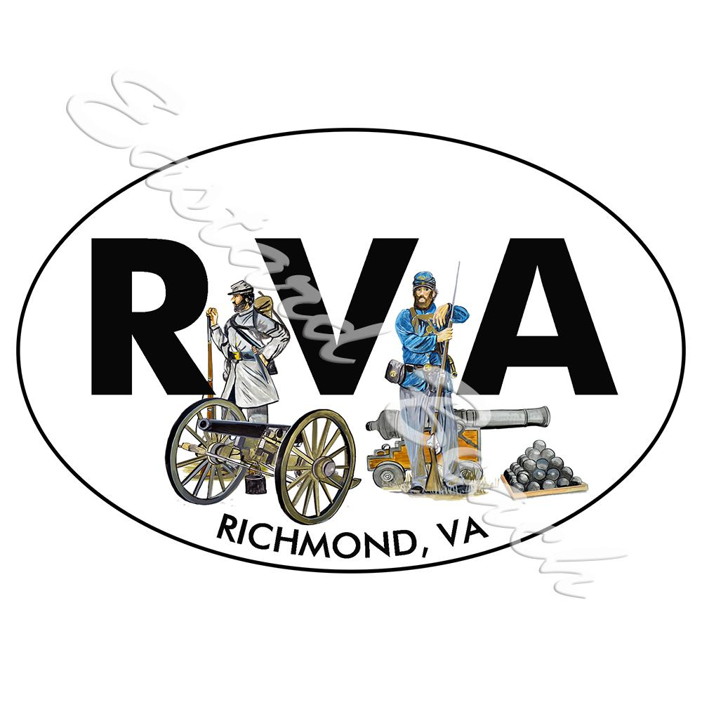 RVA - Richmond Civil War Scene