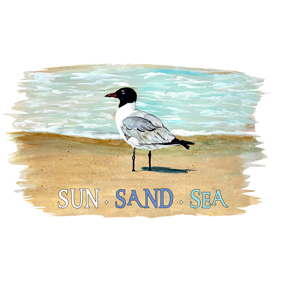 """Sun Sand Sea"" - Shore Bird"