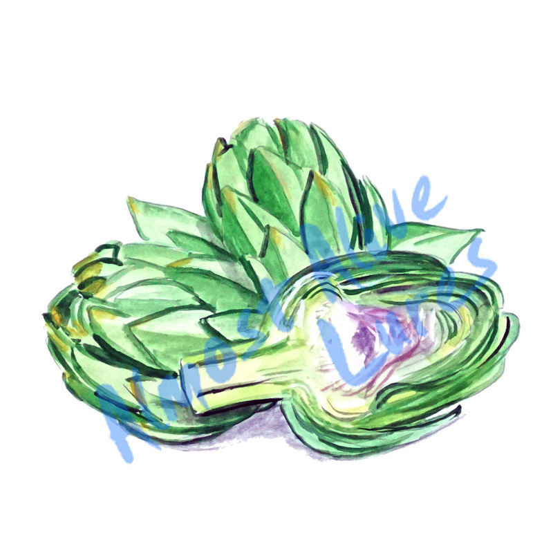 Artichoke - Printed Vinyl Decal