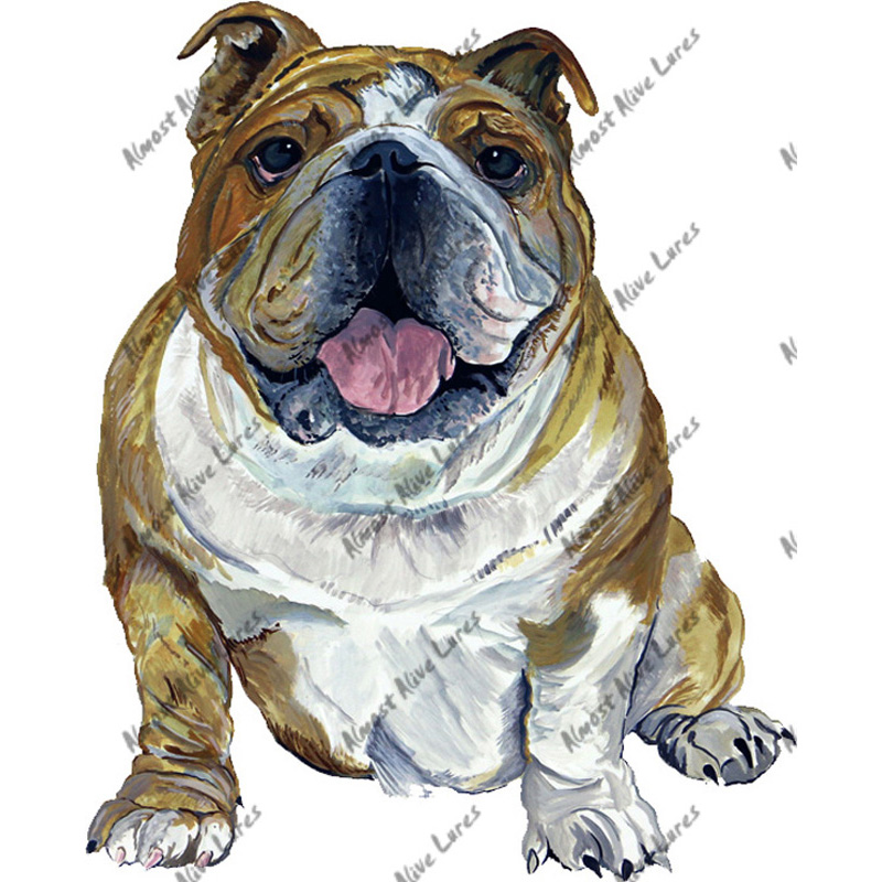 Bulldog - Printed Vinyl Decal